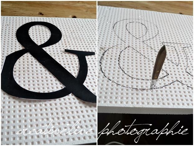 Diy Beton Buchstaben Aus Styropor Creativlive