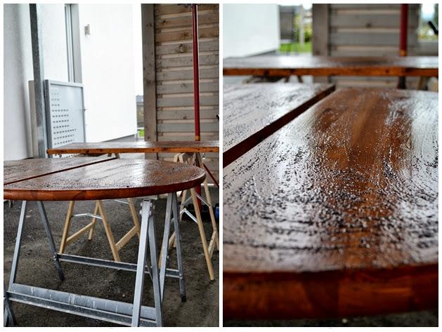 Holz Alt Aussehen Lassen Essig Stahlwolle Wohn Design