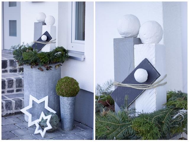 Weihnachtsdeko Aussen Modern.Weihnachtsdeko 2 Teil Creativlive
