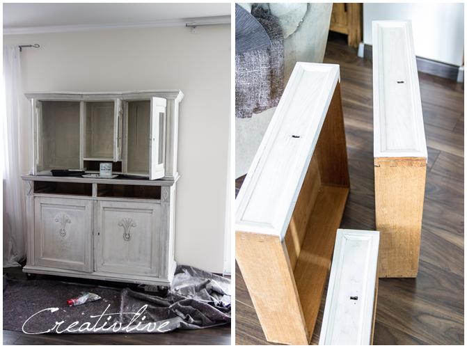 schrank mit kreidefarbe gestrichen creativlive. Black Bedroom Furniture Sets. Home Design Ideas