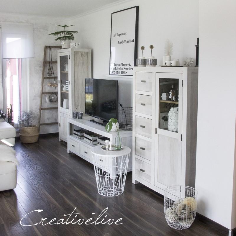 Kreidefarbe f r s wohnzimmer creativlive for Wohnzimmer neu streichen