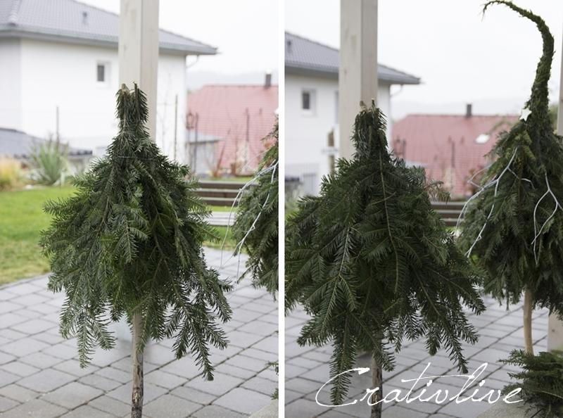 weihnachtsbaum aus zweigen binden ostseesuche com. Black Bedroom Furniture Sets. Home Design Ideas