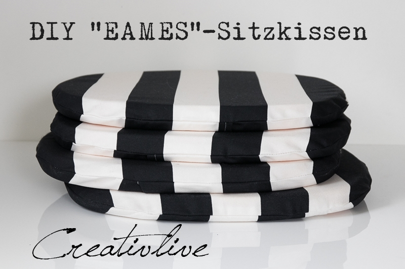 diy anleitung sitzkissen passend f r eames chair creativlive. Black Bedroom Furniture Sets. Home Design Ideas