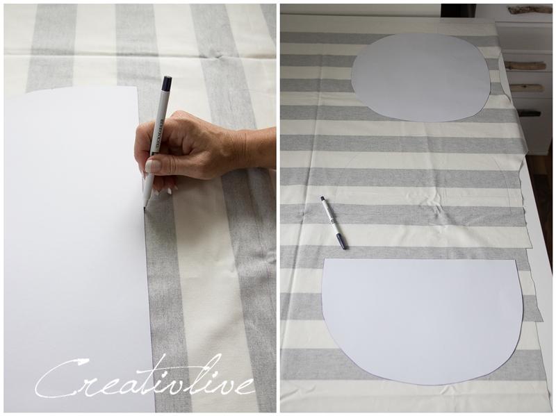DIY Anleitung Sitzkissen passend für Eames Chair - CreativLIVE