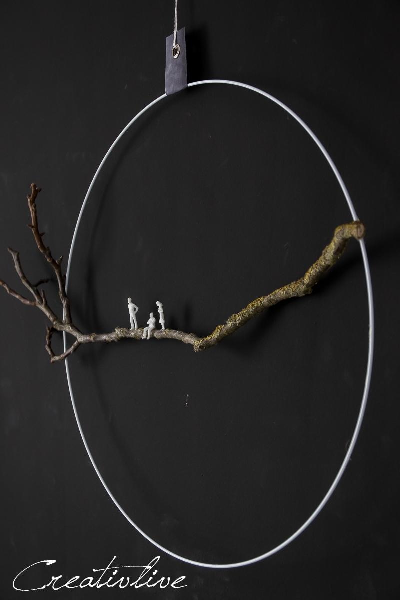 Ring mit Zweig