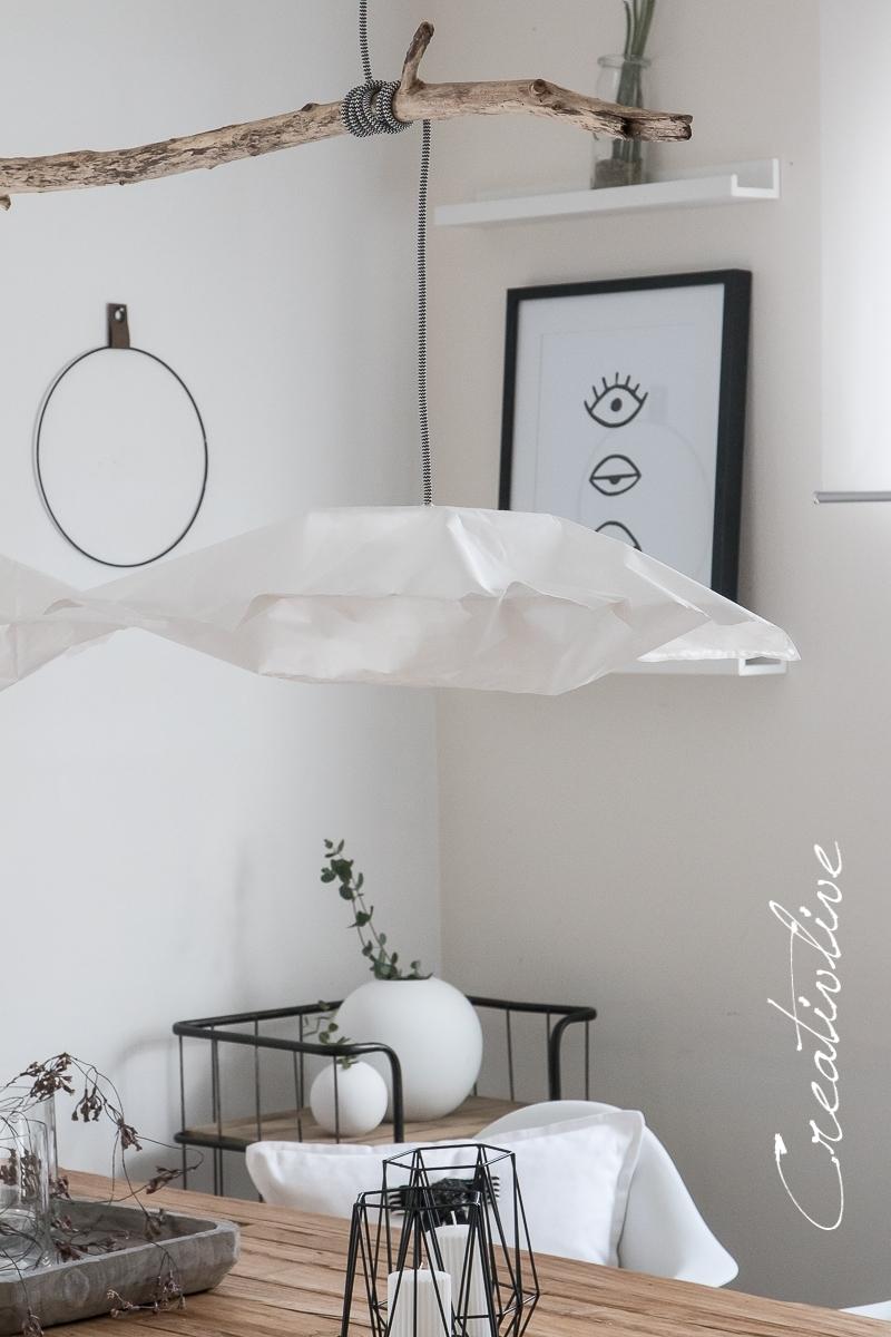Diy Papierlampe Wie Ikea Varmluft Creativlive