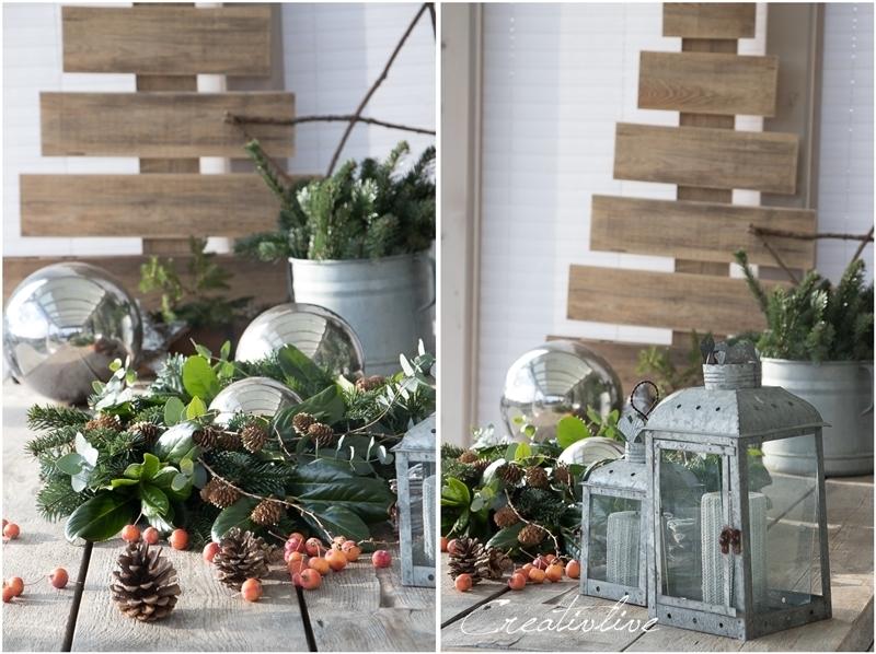 Weihnachten Auf Der Terrasse