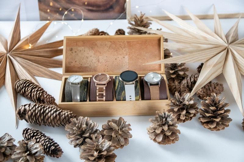 DIY Aufbewahrungsbox für Uhren mit Spangen aus Fimo Ledereffekt