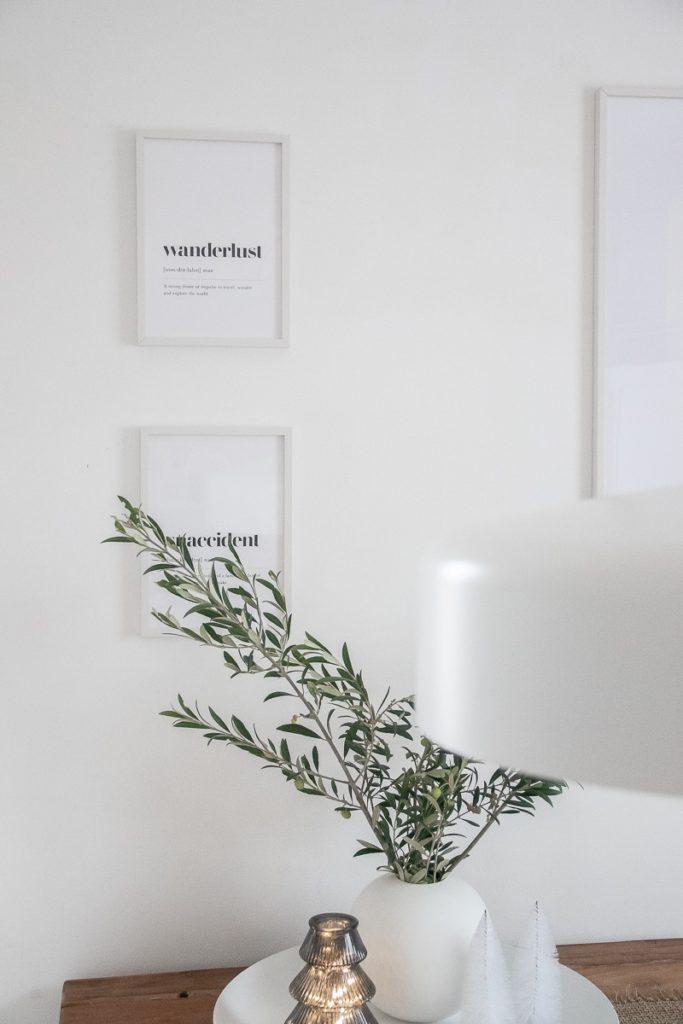 DIY gedrehte Kerzen, Weihnachtsdeko und neue Poster von Poster Store