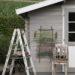 DIY Gartenbild aus Grünschnitt